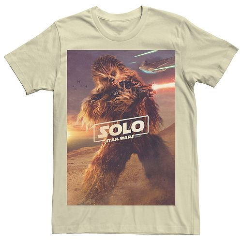 Men's Star Wars Chewbacca Poster Tee
