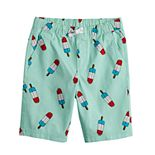 Boys 8-20 Hollywood Jeans Printed Pull-On Shorts