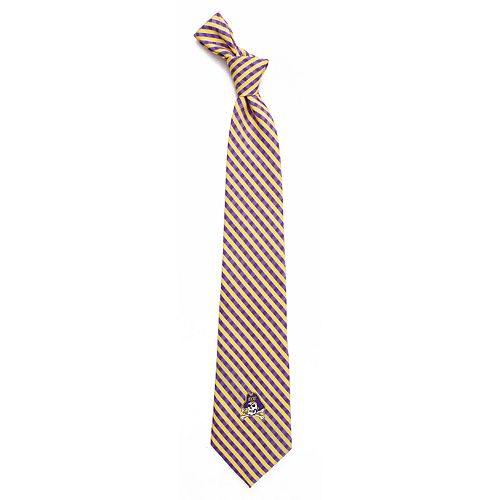 Men's East Carolina Pirates Gingham Tie