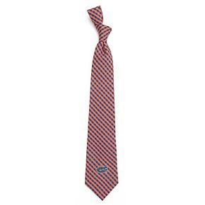 Men's Florida Gators Gingham Tie