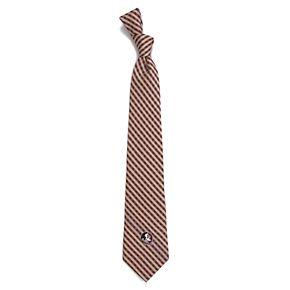 Men's Florida State Seminoles Gingham Tie