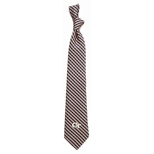 Men's Georgia Tech Yellow Jackets Gingham Tie
