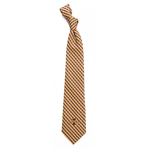 Men's Iowa State Cyclones Gingham Tie