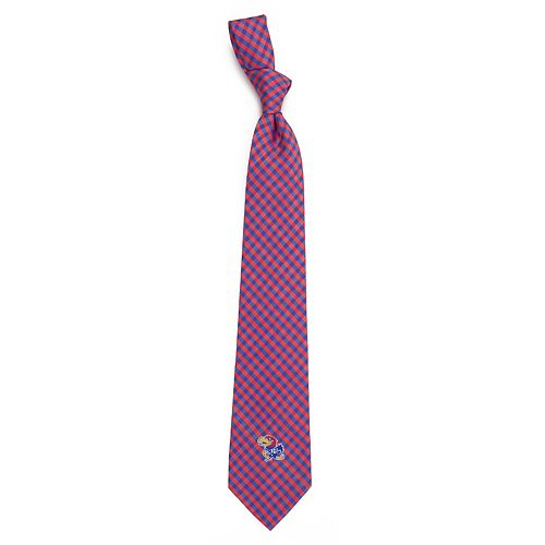 Men's Kansas Jayhawks Gingham Tie