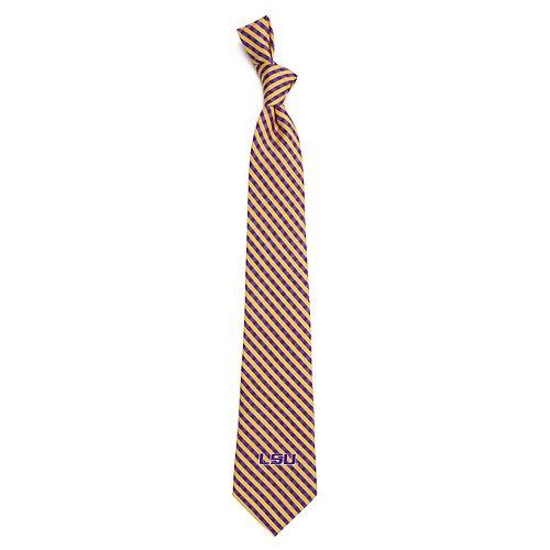 Men's LSU Tigers Gingham Tie