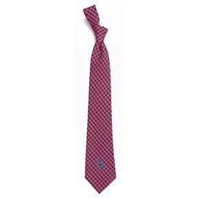 Men's Ole Miss Rebels Gingham Tie