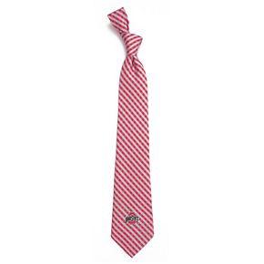 Men's Ohio State Buckeyes Gingham Tie