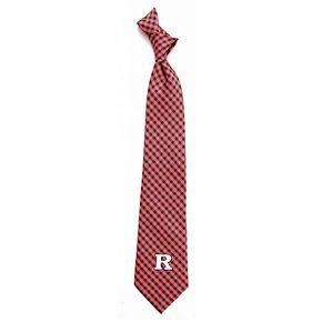 Men's Rutgers Scarlet Knights Gingham Tie