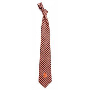 Men's Syracuse Orange Gingham Tie