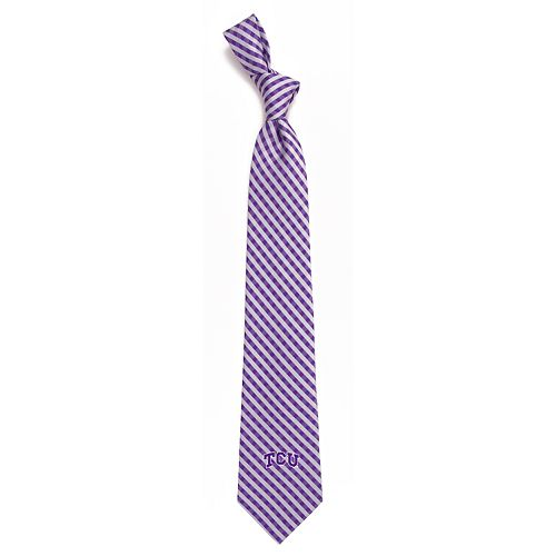 Men's TCU Horned Frogs Gingham Tie