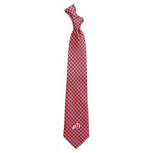 Men's Utah Utes Gingham Tie