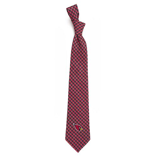 Men's Arizona Cardinals Gingham Tie