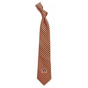 Men's Cincinnati Bengals Gingham Tie