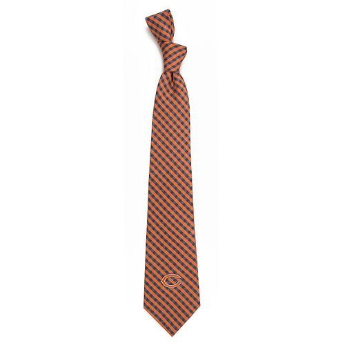 Men's Chicago Bears Gingham Tie