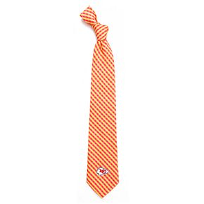 Men's Kansas City Chiefs Gingham Tie