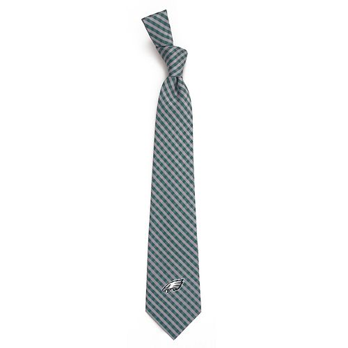 Men's Philadelphia Eagles Gingham Tie