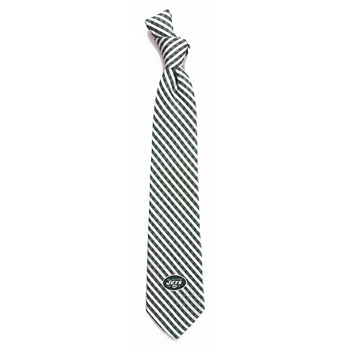 Men's New York Jets Gingham Tie