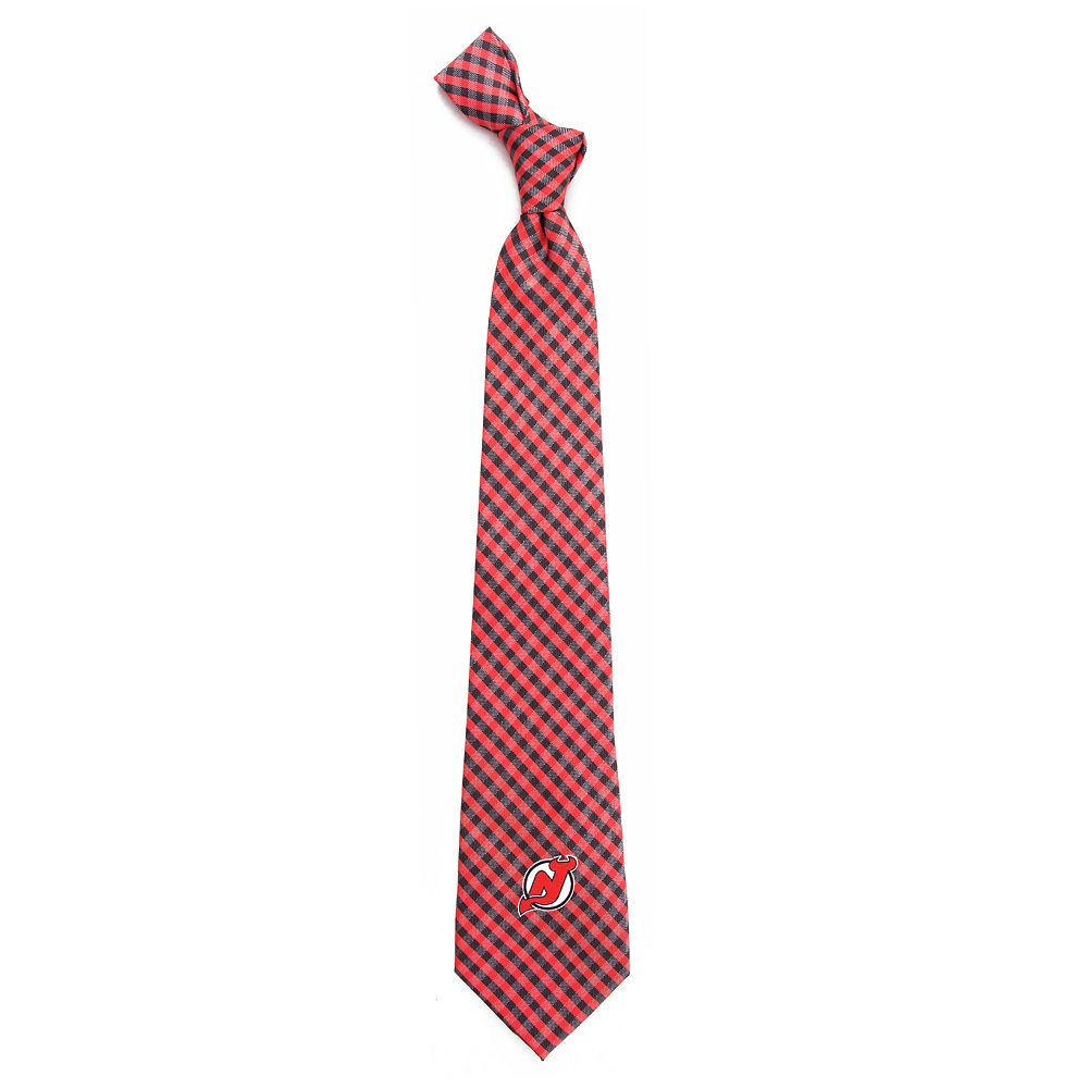 Men's New Jersey Devils Gingham Tie