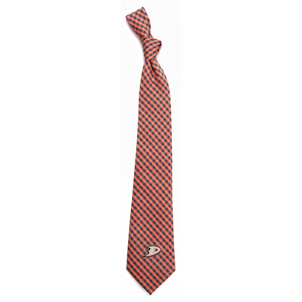 Men's Anaheim Ducks Gingham Tie