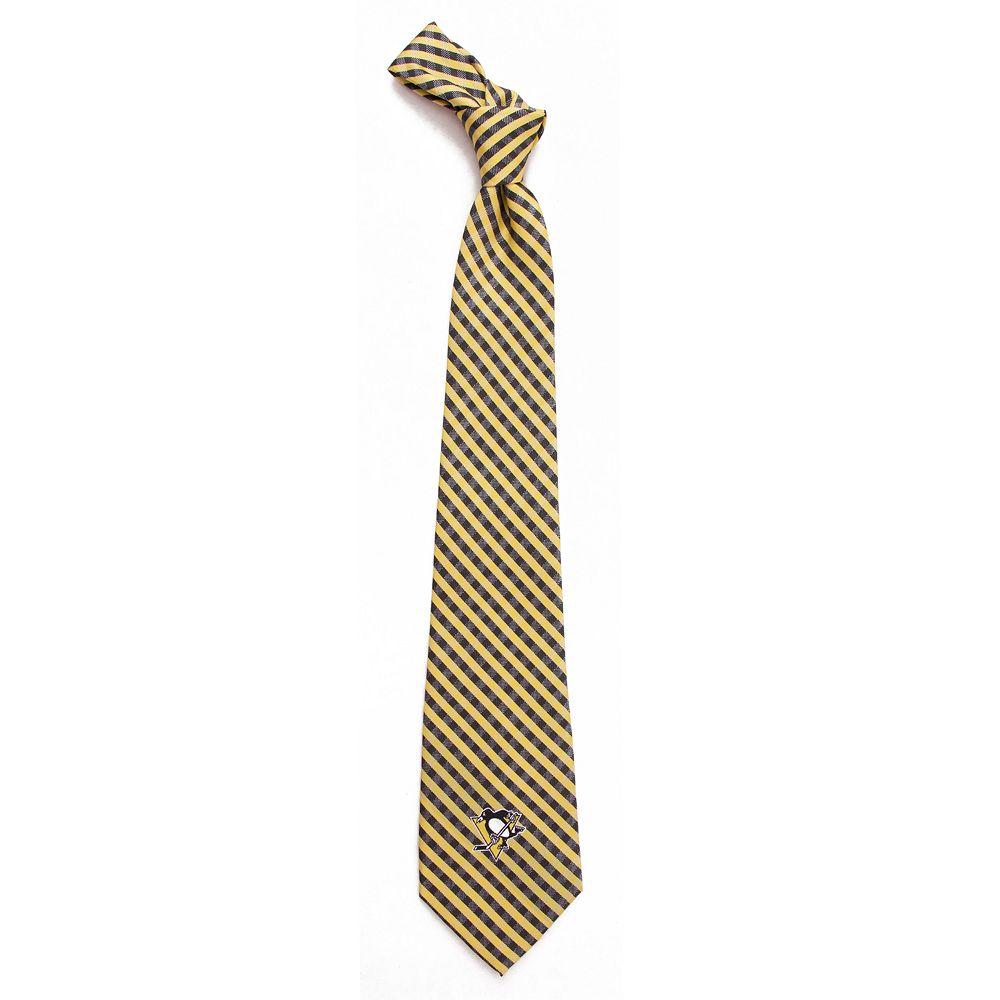 Men's Pittsburgh Penguins Gingham Tie