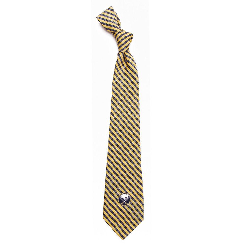 Men's Buffalo Sabres Gingham Tie