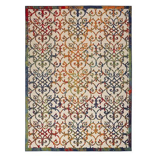 Nourison Aloha Dusk Indoor / Outdoor Rug
