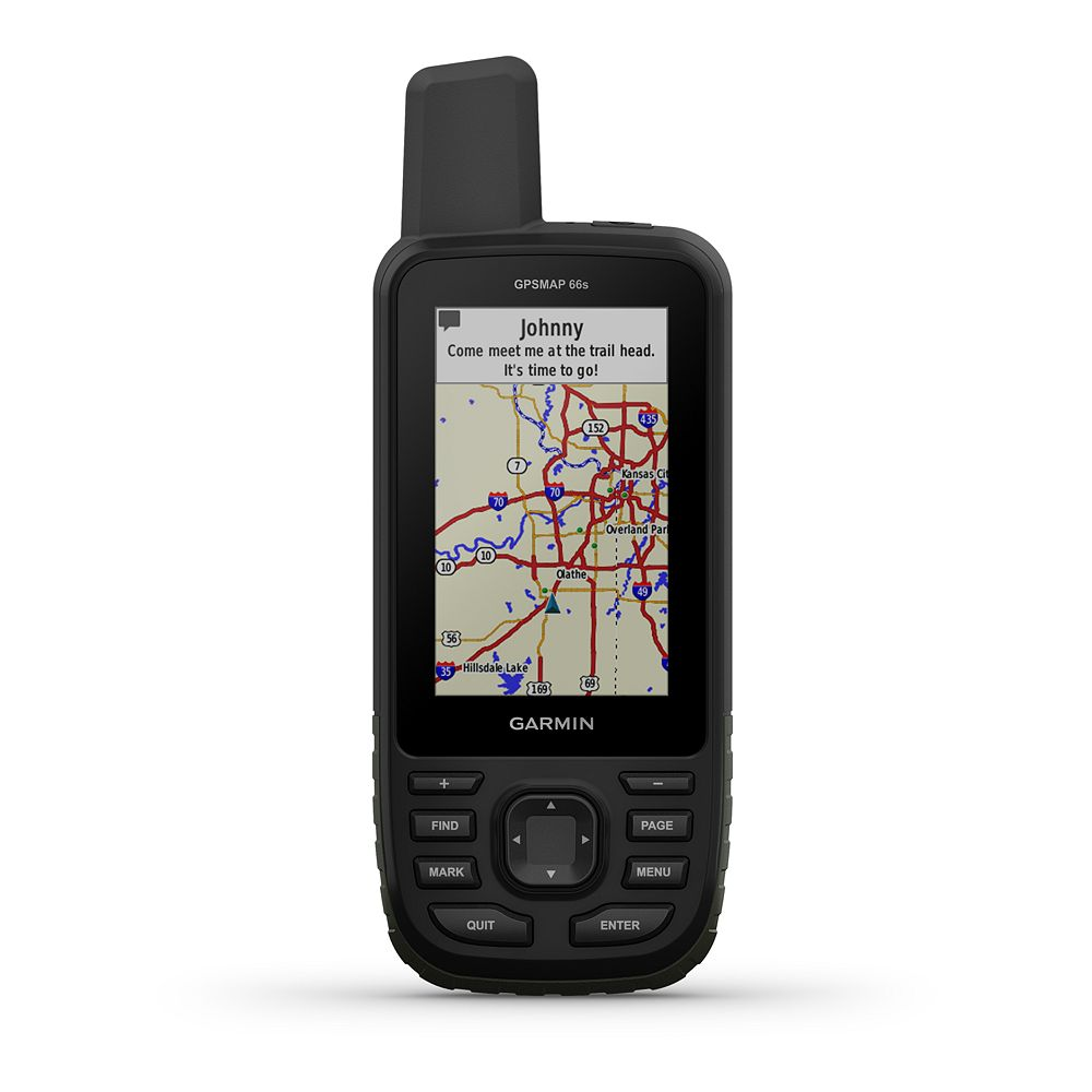 Garmin GPSMAP 66s Multi-GNSS Handheld with Sensors