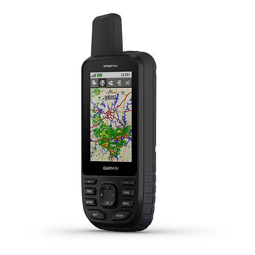 Garmin GPSMAP 66st Multi-GNSS Handheld with Sensors & TOPO Maps