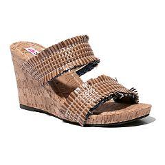 d1d6559119c2 Two Lips Too Too Mira Women s Wedge Sandals
