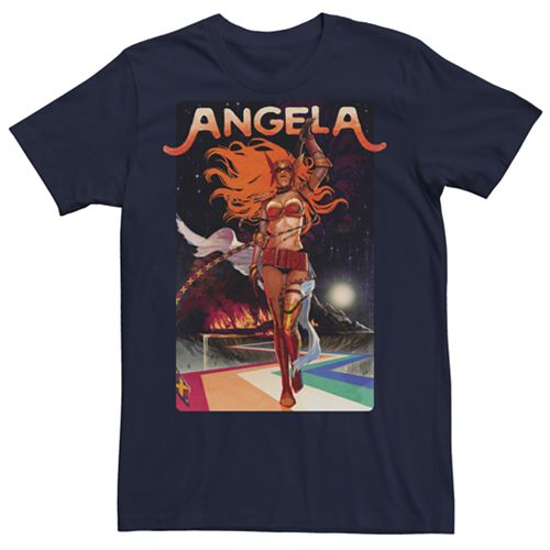 Men's Marvel Now Angela Catwalk Graphic Tee
