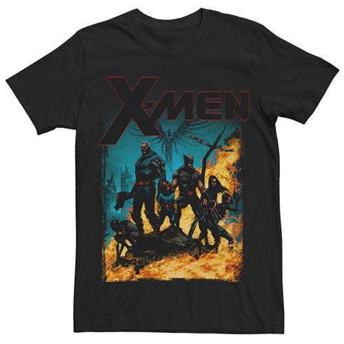 Men's Marvel X-Men Team Stand Graphic Tee
