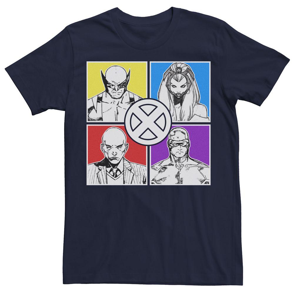 Men's Marvel X-Men Classic Sketch Graphic Tee