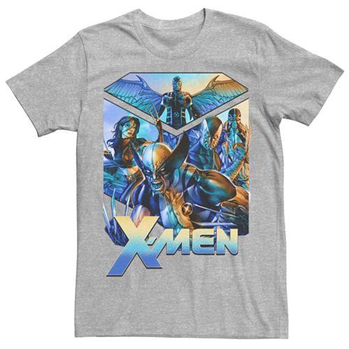 Men's Marvel X-Men Wolverine Arrange Graphic Tee