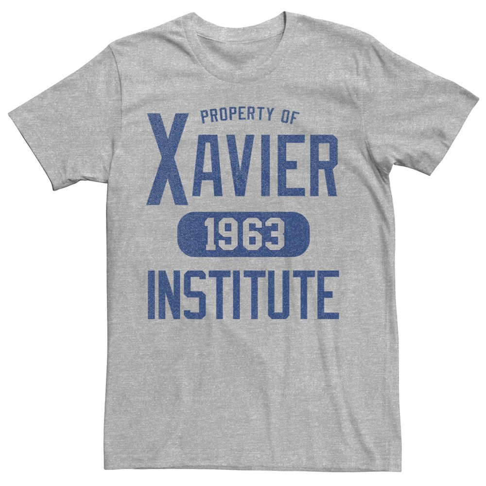 Men's Marvel X-Men Xavier Institute Varsity Graphic Tee