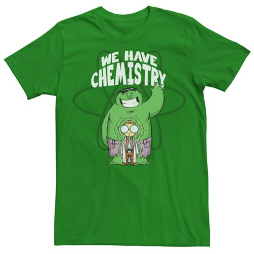 Men's Marvel The Incredible Hulk Chemistry Graphic Tee