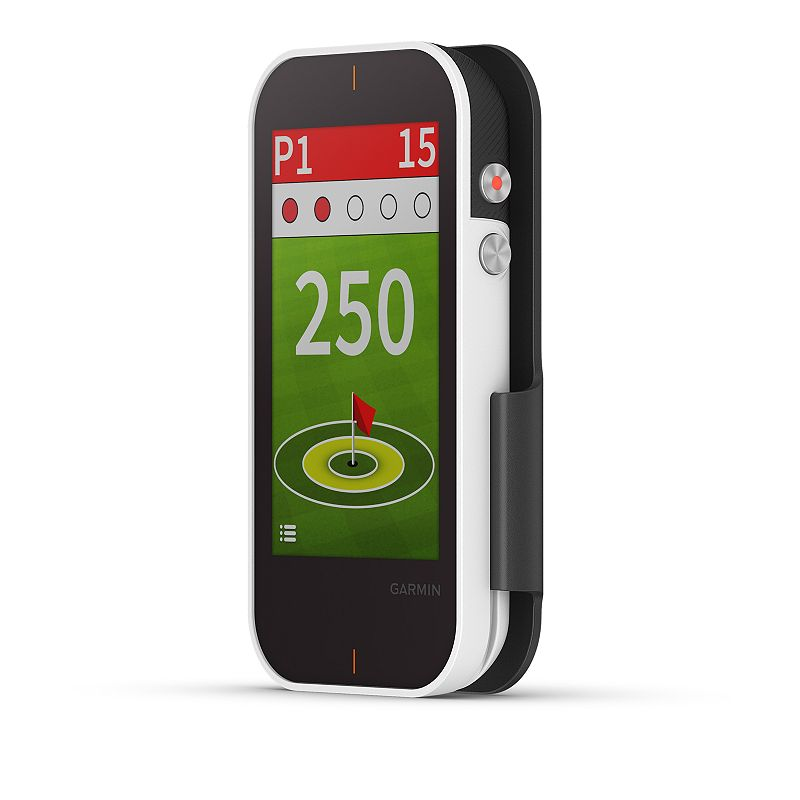 Garmin Approach G80 - GPS Golf Handheld & Integrated Launch Monitor, Black Improve your game and enjoy time on the green with this Garmin Approach G80 GPS Golf Handheld. All-in-one premium GPS golf handheld with launch monitor 3.5-in. sunlight-readable touchscreen display and slim design Quick button access to radar Integrated launch monitor tracks club head speed, ball speed, smash factor, swing tempo and estimated distance Preloaded with more than 41,000 detailed color golf course maps worldwide Practice and game modes allow you to test your skills and work to improve your game WHAT'S INCLUDED GPS USB cable Trolley cart mount Lanyard carabineer 2.3 W x 4.5 H x 0.6 D Weight: 4.2-oz. Rechargeable lithium ion battery Battery life: up to 15 hours Battery charge time: 3 hrs. Connectors: microUSB Water resistant to 1 meter for up to 30 minutes Compatible with iPhone, Android Wireless: Bluetooth Wireless range: 20 ft. Manufacturer's 1-year limited warranty. For warranty information please click here Model no. 010-01914-00 WARNING: Cancer and Reproductive Harm. For more information go to www.P65Warnings.ca.gov. This product is not eligible for promotional offers and coupons. However, you are able to earn and redeem Kohl's Cash and YES2YOU Rewards on this product. Modified return policy applies. Size: One Size. Color: Black. Gender: unisex. Age Group: adult.