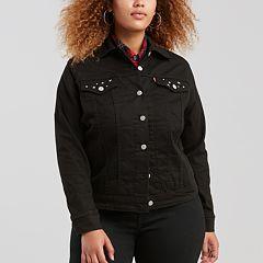 Plus Size Levi's Denim Trucker Jacket