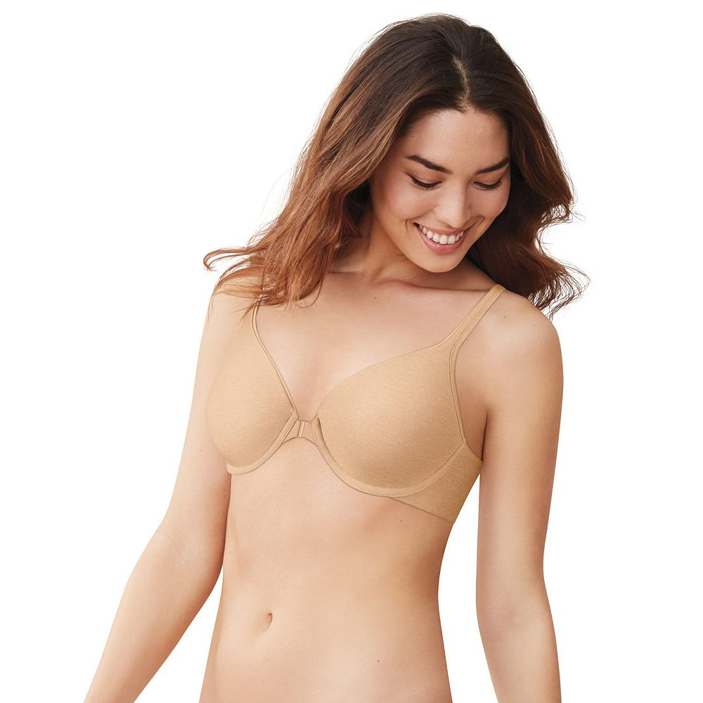 Hanes Ultimate® Bra: Soft Front-Closure Convertible T-Shirt Bra HU01
