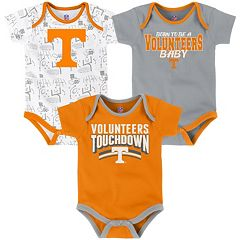 Baby Tennessee Volunteers Playmaker 3-Pack Bodysuit Set