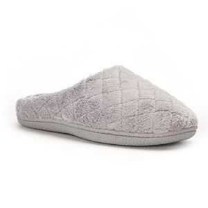 df1f3e57f4b0 Women s Dearfoams Microfiber Terry Quilted Slide Slippers. (5). Sale