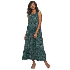 Women's SONOMA Goods for Life™ Tiered Challis Dress