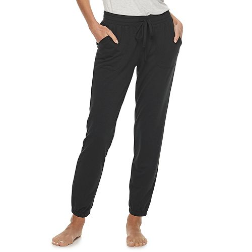 Women's SONOMA Goods for Life® Essential Banded-Bottom Pajama Pants