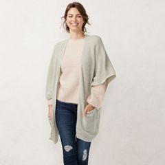 Women's LC Lauren Conrad Marled Knit Kimono