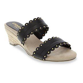 London Fog Kay Women's Wedge Sandals