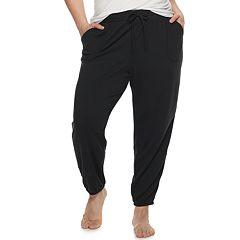 ac1d733aadc0 Plus Size SONOMA Goods for Life™ Elastic Hem Essential Pajama Pants