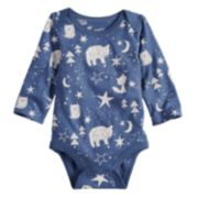 Baby Boy Jumping Beans® Blue Graphic Bodysuit
