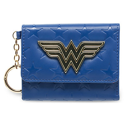 Wonder Woman Mini Trifold Wallet with Keychain