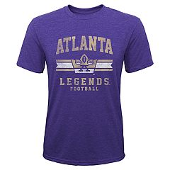 Boy 8-20 Atlanta Legends AAF Ribbon Runner Tee