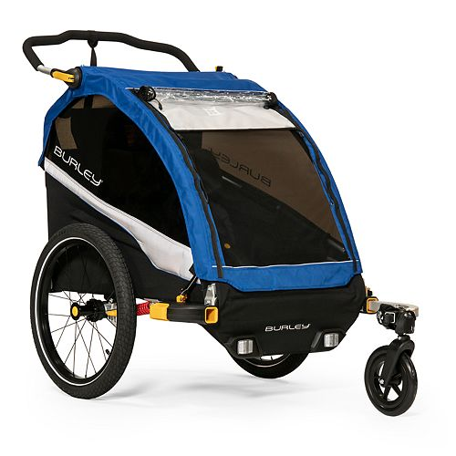Burley D'Lite Kids Bike Trailer & Double Stroller