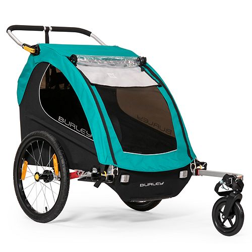 Burley Encore X - Kids Bike Trailer & Double Stroller